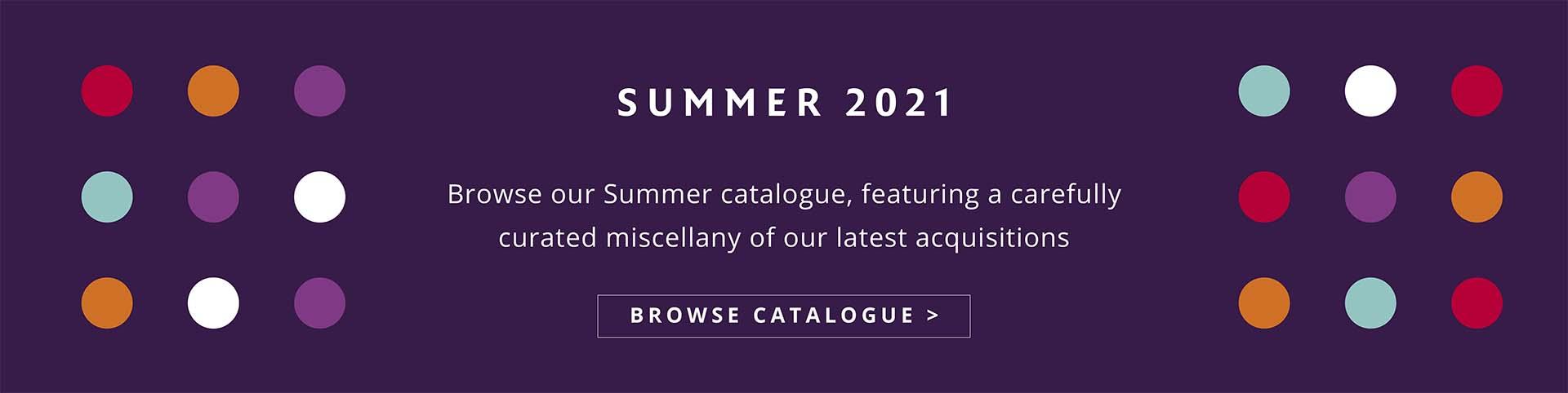 Summer Catalogue 2021