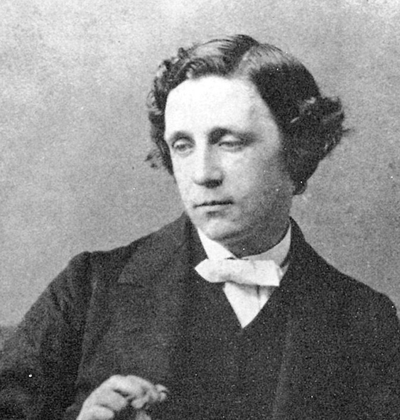 Lewis Carroll Author Autograph Reprint On Genuine 1880s Paper