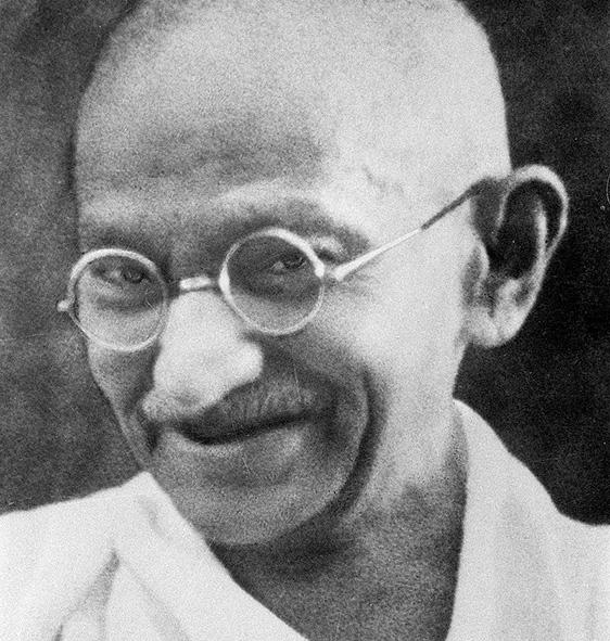 GANDHI, Mahatma K.