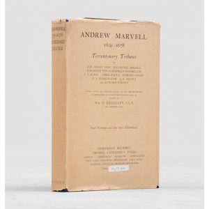 Andrew Marvell 1621-1678: Tercentenary Tributes.
