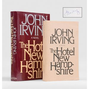 The Hotel New Hampshire [with uncorrected proof].