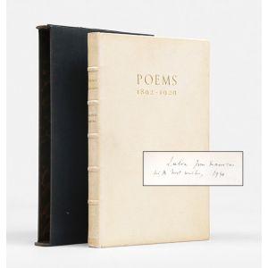 Poems 1892-1929.