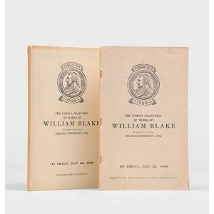 The Famous Collection of Works by William Blake, the property of the late Graham Robertson, on Friday, July 22, 1949.