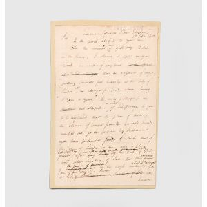 Autograph letter signed to Sir John Anderson.