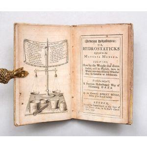 Medicina Hydrostatica: or, Hydrostaticks Applyed to the Materia Medica.