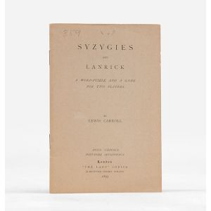 Syzygies and Lanrick. A Word Puzzle and a Game for Two Players.