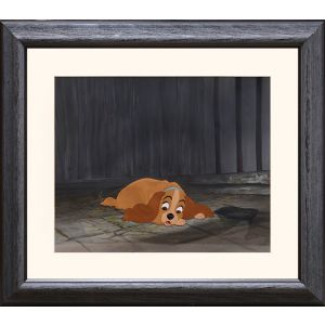 Lady and the Tramp original cel.