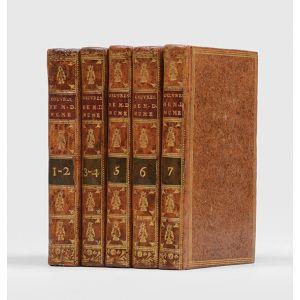 Œuvres philosophiques de M. D. Hume. Traduites de l'anglois. Tome premier [- septième]. Nouvelle édition.