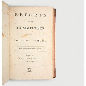 Report from the Committee upon the Distilleries in Scotland. Reported by the Right Honourable Sylvester Douglas, 11 June 1798.