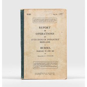 Report on Operations of 77th Indian Infantry Brigade in Burma, February to June 1943.