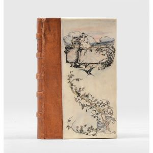 [Original Rackham-illustrated vellum binding:] The Open Road.