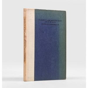 Florence Farr, Bernard Shaw and W. B. Yeats.