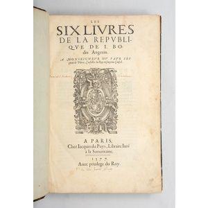 Les six livres de la republique.