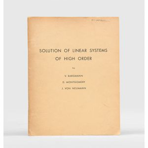 Solution of Linear Systems of High Order.