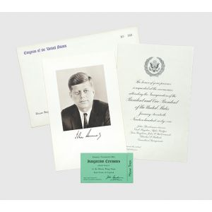 The David Powers collection of John F. Kennedy's speeches and manuscripts.
