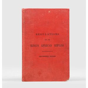 Regulations for the King's African Rifles. Provisional Edition.