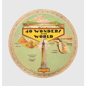 40 Wonders of the World; 40 Inventions of the World.