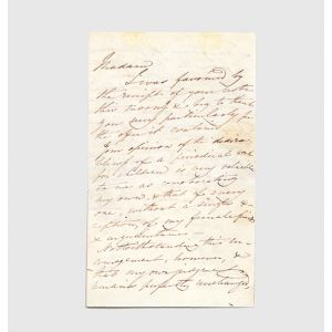 Autograph letter signed discussing the frustrations of publishing a periodical work for children.