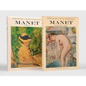 Edouard Manet: Catalogue raisonné. Tome I: Peintures. Tome II: Pastels, aquarelles et dessins.