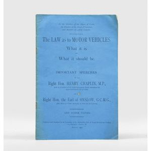The Law as to Motor Vehicles: