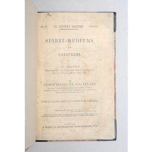 Spirit-Mediums and Conjurers: an Oration delivered in the Cavendish Rooms, London, on Sunday evening, June 15th, 1873.