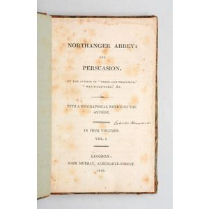 Northanger Abbey: and Persuasion.