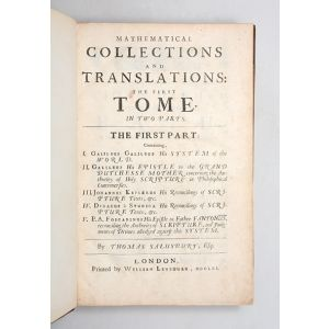 Mathematical Collections and Translations: