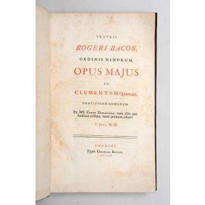 Fratris Rogeri Bacon, ordinis minorum, Opus Majus