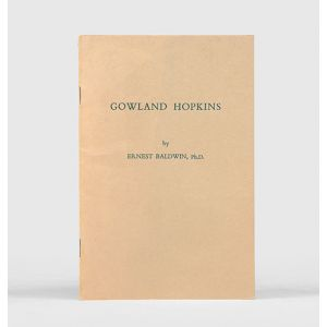 Gowland Hopkins, a memoir on the discoverer of vitamins.