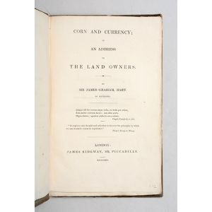 Corn and Currency; in an Address to the Land Owners.