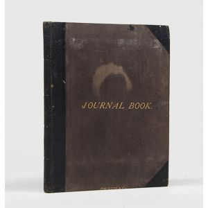 Manuscript Journal of a Royal Navy officer, including voyages on HMS Nelson and HMS Tamar,