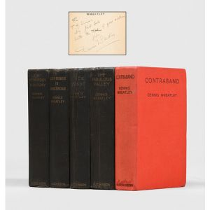 [Collection of five inscribed works:]