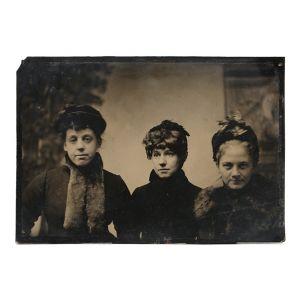 Half plate tintype.