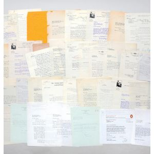 Archive of retained correspondence from the files of his first publisher, Victor Gollancz, relating to the publication of Down and Out in Paris and London.