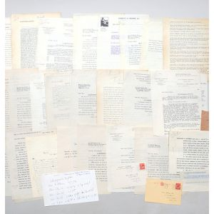 Archive of retained correspondence from the files of his first publisher, Victor Gollancz, relating to the publication of A Clergyman's Daughter.