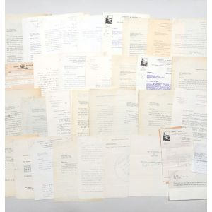 Archive of retained correspondence from the files of his first publisher, Victor Gollancz, relating to the publication of Keep the Aspidistra Flying.