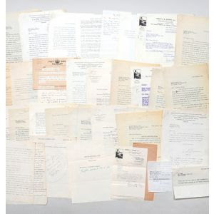 Archive of retained correspondence from the files of his first publisher, Victor Gollancz, relating to the publication of The Road to Wigan Pier.
