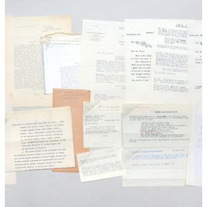 Archive of retained correspondence from the files of his first publisher, Victor Gollancz, relating to the publication of Inside the Whale.