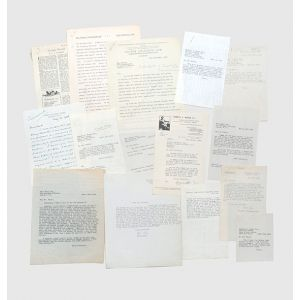 Archive of retained correspondence from the files of his first publisher, Victor Gollancz, relating to the publication of Animal Farm.