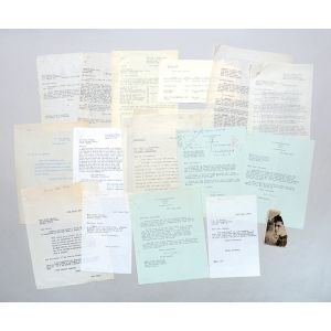Archive of retained correspondence from the files of his first publisher, Victor Gollancz.
