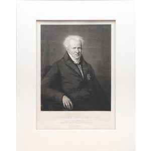 Fine mezzotint portrait by Paul Sigmund Habelmann after the painting by Emma Gaggiotti Richards