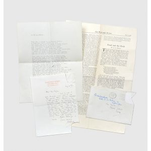Autograph letter signed discussing Christopher Robin's school.