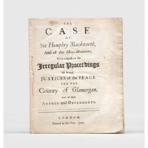 The case of Sir Humphry Mackworth,