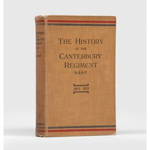 The History of the Canterbury Regiment, N.Z.E.F. 1914-1919.