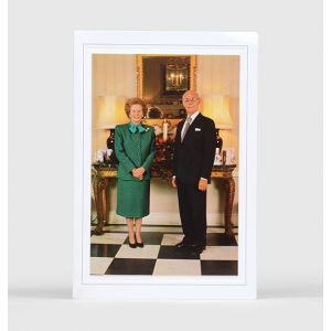 Christmas card from Denis and Margaret Thatcher to Harold Wilson.