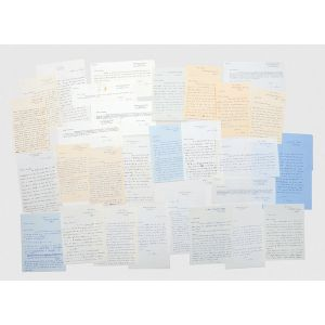 Collection of autograph letters signed to the dedicatees of The Magician's Nephew.