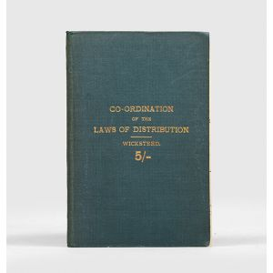 An Essay on the Co-ordination of the Laws of Distribution.