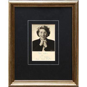 Photographic portrait, inscribed.