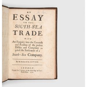 An Essay on the South-Sea Trade.