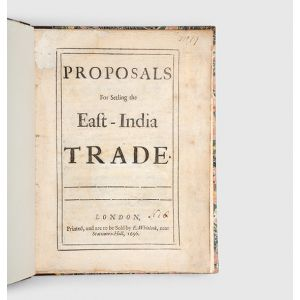 Proposals for Setling [sic] the East-India Trade.